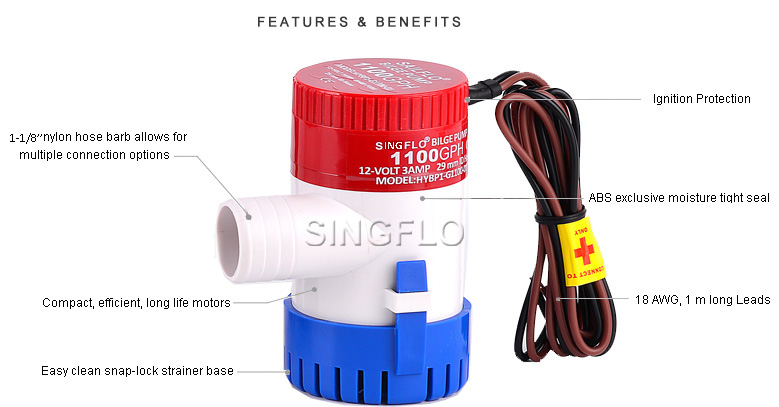 small boat bilge pump
