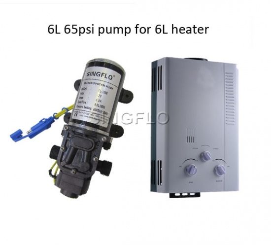 water heater with pump portable gas hot