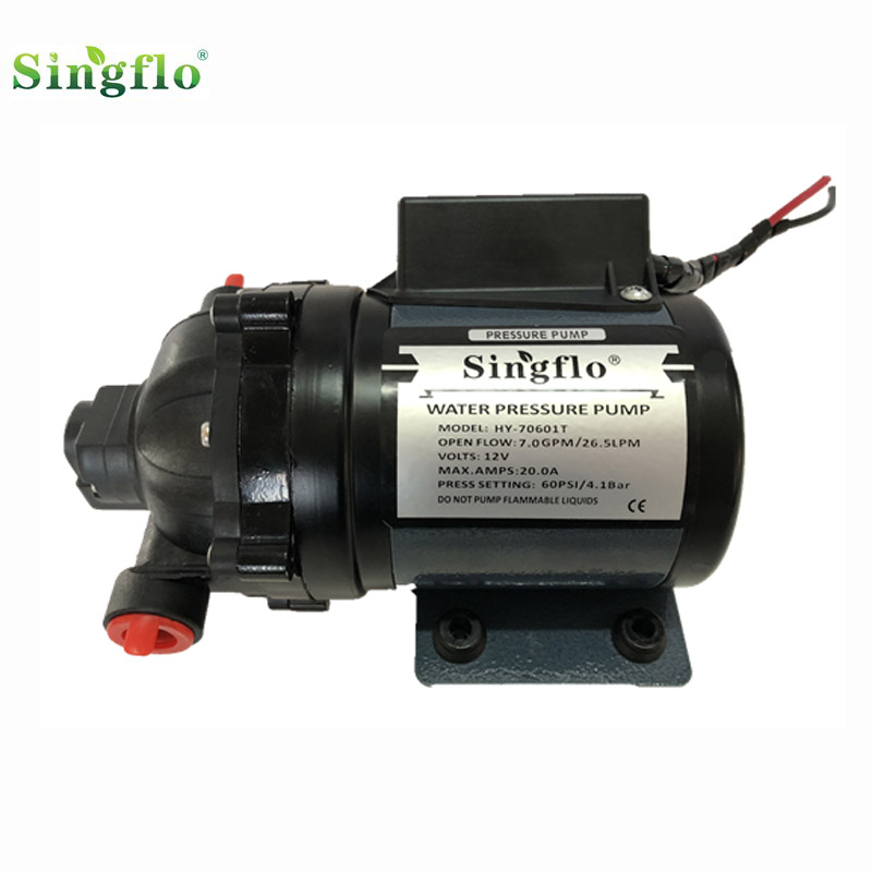 Singflo high capacity 7GPM 26.6LPM electric industrial water pump